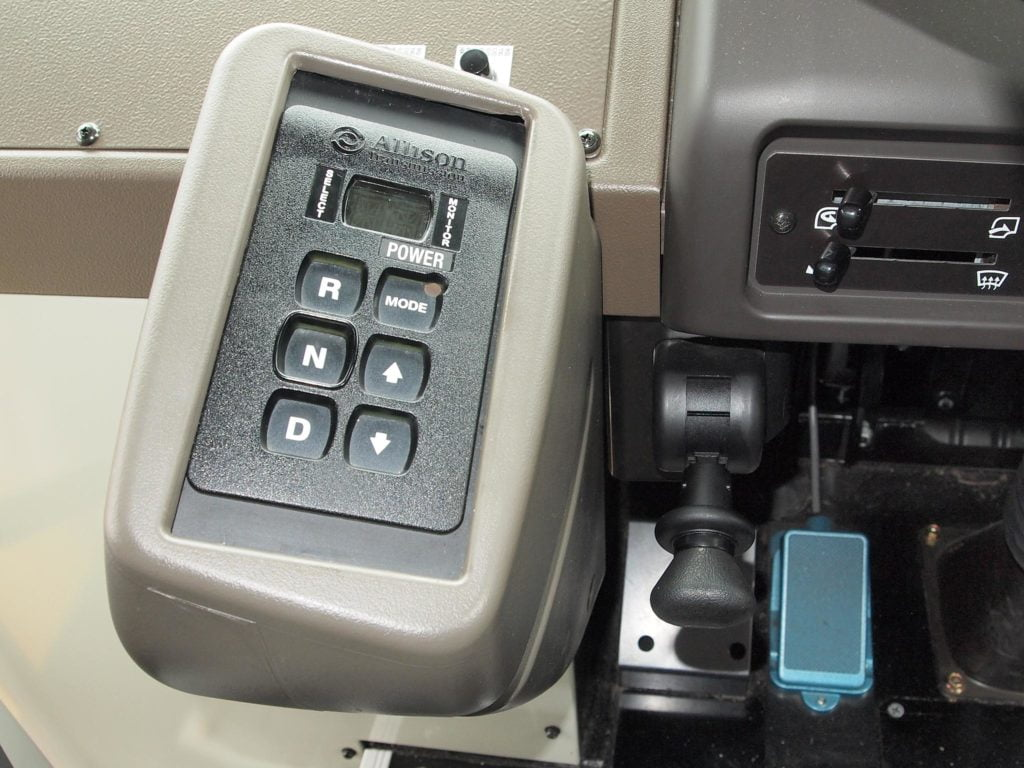 Driving an automatic transmission is easy and simple