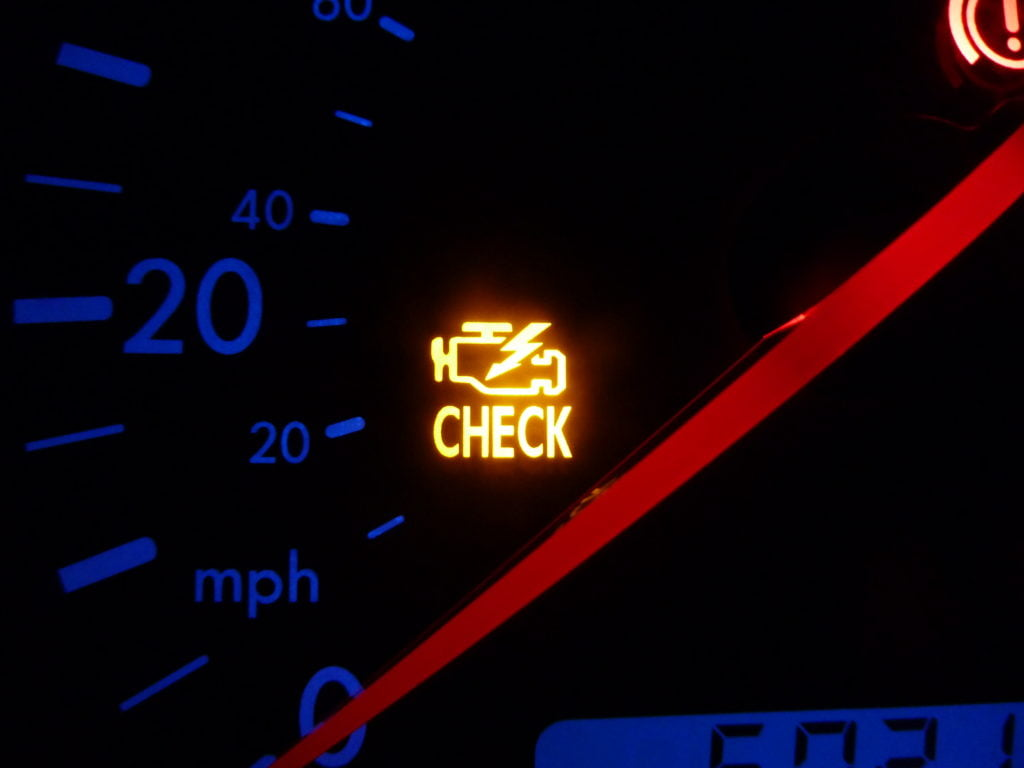 If your Check Engine Light does come on, and you just filled up your gas tank, check the gas cap to see if it's loose