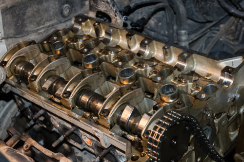 The P0012 Code involves a timing problem with the camshaft.