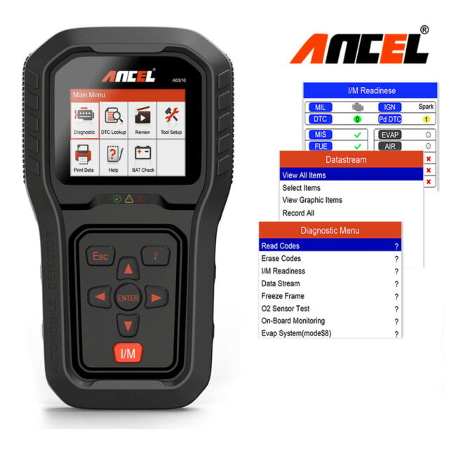 Ancel AD510 is an ideal tool for use in all conditions.
